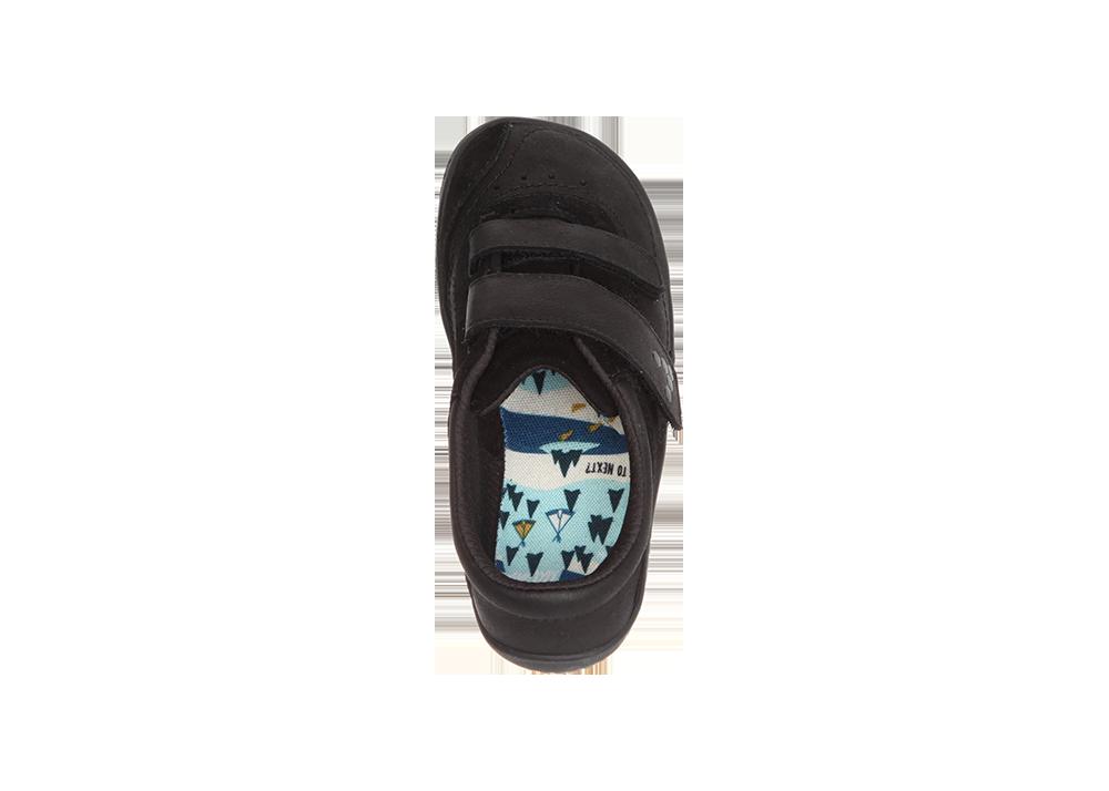 Vivobarefoot RENO K Leather Black Hide  77cc40c6b4